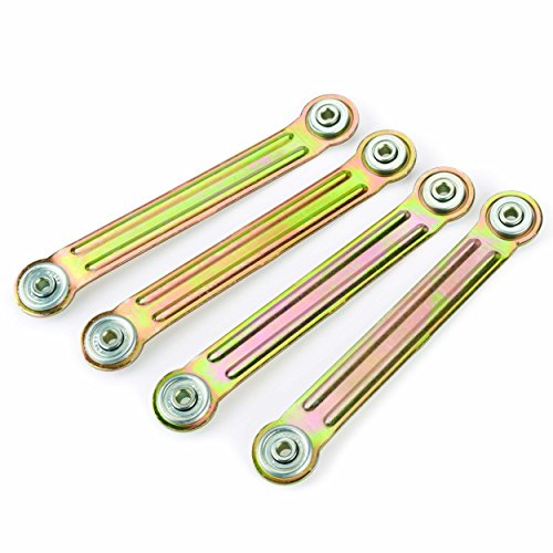 Glider Bracket Hardware 4-Piece (Bench Glider Hardware)