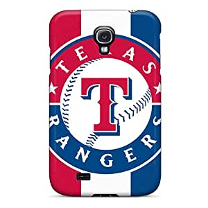 Hot Tpu Cover Case For Galaxy/ S4 Case Cover Skin - Pride Of My Texas Rangers