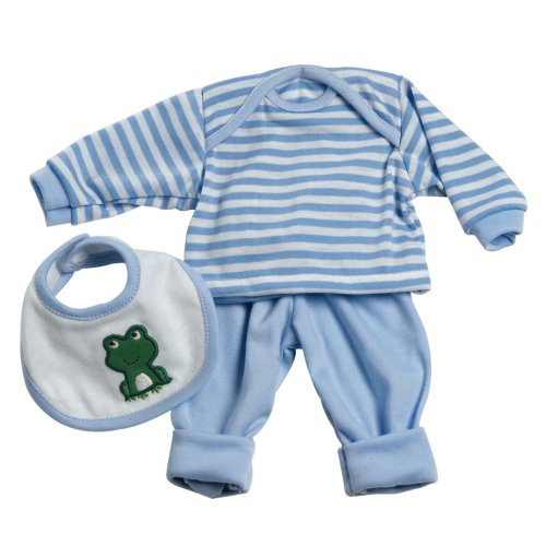 Adora 13inch Baby Doll Accessories 3 Pc. Play Set - Blue