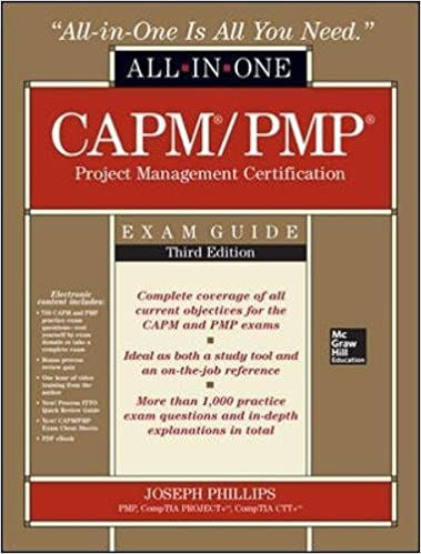 Amazon capmpmp project management certification all in one amazon capmpmp project management certification all in one exam guide third edition 9780071776042 joseph phillips books yadclub Image collections