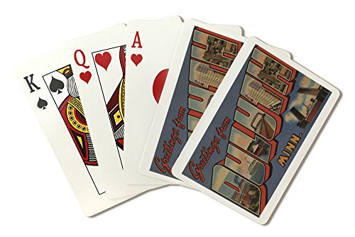 Greetings from Duluth, Minnesota (Playing Card Deck - 52 Card Poker Size with ()