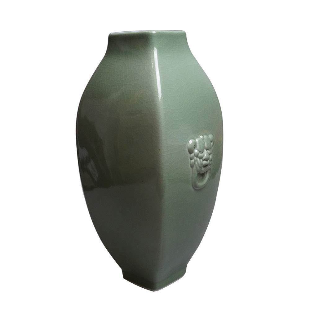 セラミック花瓶用花緑植物結婚式の植木鉢装飾ホームオフィスデスク花瓶花バスケットフロア花瓶 B07RM4SJDH