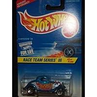 Race Team Series 3 # 3 3-Window '34 Ford # 535 Mint by Hot Wheels