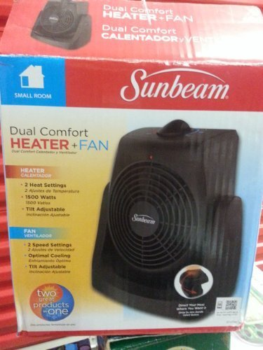 sunbeam portable electric heater - 5