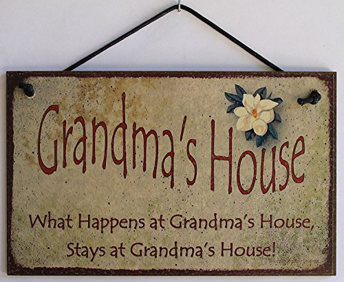 Household Decoration (5x8 Vintage Style Sign with Magnolia Saying,