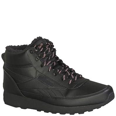 e382693df0c Reebok Men s CL Renaissance Mid Winter Running Shoes Black Black Black 11.5  D(