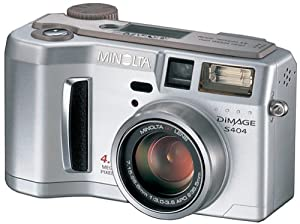 minolta dimage s404 4mp digital camera with 4x optical zoom - Minolta Digital Camera