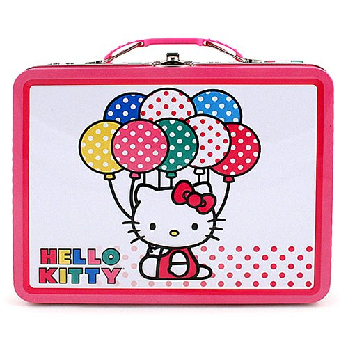 Hello Kitty Carry All Balloons Hello Kitty Tin Box by Hello Kitty