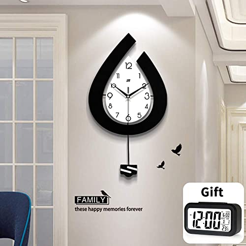TT Large Woodwall Clocks Large Decorative Wall Clock