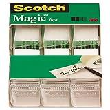 Scotch Magic Tape, 3/4 x 300 Inches, (3105) - 72 Rolls