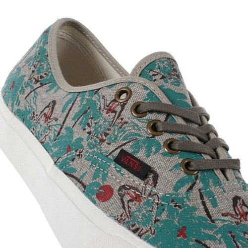 Vans Authentic CA Unisex Segelschuhe / Sneakers, Aluminium Green