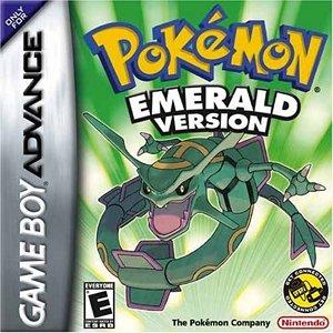 Pokemon Emerald Version Game Boy Advance product image