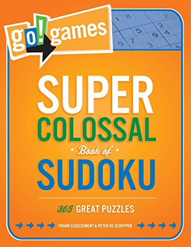 Go!Games Super Colossal Book of Sudoku: 365 Great Puzzles ()