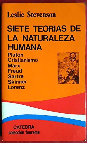 Siete teorias de la naturaleza humana (Teorema Menor (catedra))