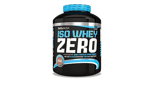 Biotech USA Iso Whey Zero - 2,27 kg Tiramisú: Amazon.es ...