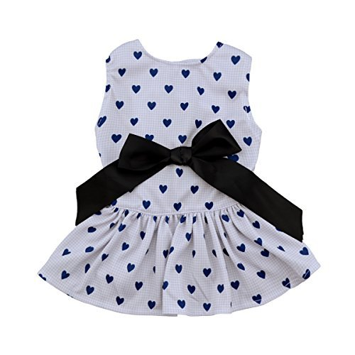 Cute Clothes For Puppies (CuteBone Dog Dress Clothes for Cute Princess Small Dogs Girls)