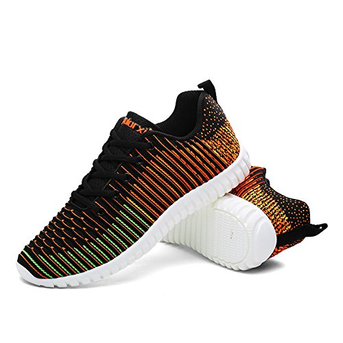Mens Point Bleathable Flyknit Earsoon Hiver Sneakers Facilement Formation De qwBgU6xSq