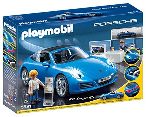 Playmobil-Porsche-911-Targa-4S-figuras-de-construccin-Playmobil-Multi-Nio