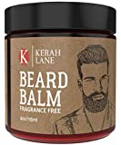 Kerah Lane Beard Balm (4 oz) Promotes Softer, Fuller, Thicker & Healthier Beard