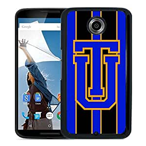 NCAA Tulsa Golden Hurricane 4 Black Customize Google Nexus 6 Phone Cover Case