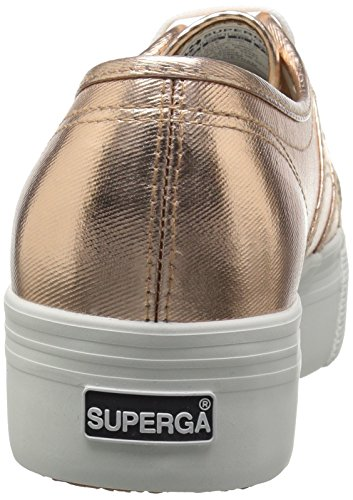 Superga Dames 2790 Cotmetu Fashion Sneaker Roségoud