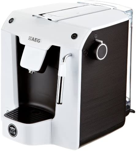 AEG LM 5100 - Cafetera de cápsulas con batidor de leche, color ...