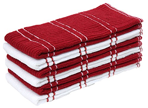 Cotton Ribbed Terry Dish Towels, 16x26