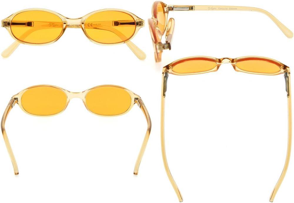 Eyekepper gafas de luz azul anti para ni/ños 3 ni/ños gafas de ordenador anteojos profundos del juego del sue/ño Amarillo