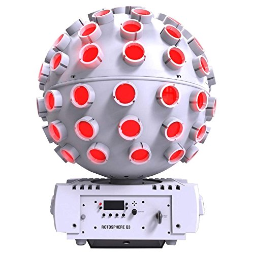 CHAUVET DJ Rotosphere Q3 (White Housing) Projection Lighting Effect by CHAUVET DJ