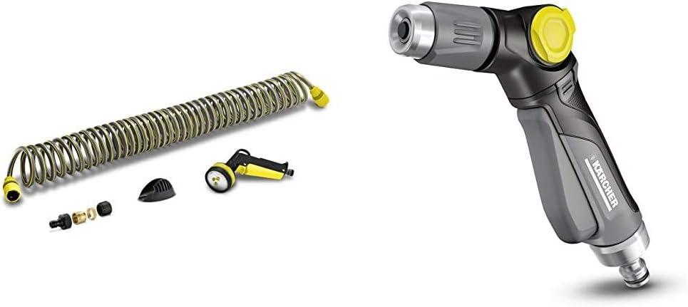 Kärcher Set de manguera espiral 10m (2.645-178.0) + Pistola de riego Premium metal (2.645-270.0)