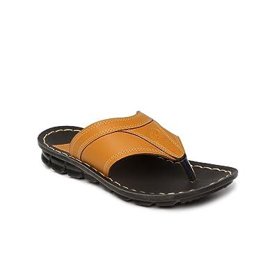 eda93c8a6 PARAGON Vertex Men s Brown Flip-Flops  Buy Online at Low Prices in ...
