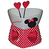 Easy Licences - Minnie Mouse Chocolate fondue Set Hearts