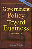 Government Policy Toward Business, Brander, James A., 0471645621