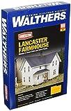 ho scale house - Walthers Cornerstone  Rural USA - Lancaster Farmhouse Plastic Kit