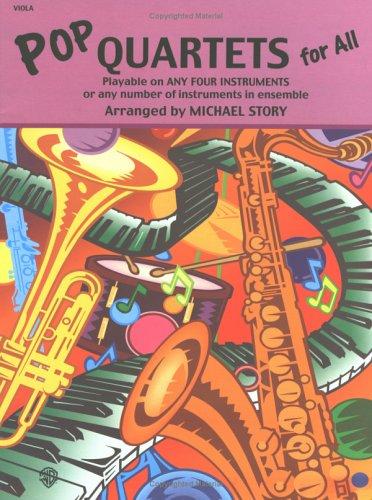 Pop Quartets for All: Viola (For All Series)