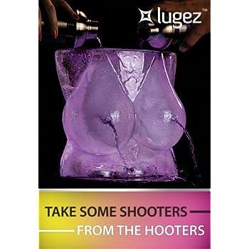 "Lugez ""IceRack"" Luge Pour Through Boobs Ice Mold"