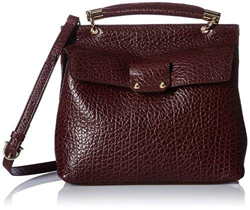 Etienne Aigner Althea Small Satchel Handbag, Cordovan (Etienne Aigner Leather Purse)