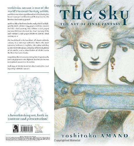 Image of The Sky: The Art of Final Fantasy Boxed Set