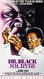 Dr. Black & Mr. Hyde [VHS]
