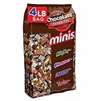 RASGADORES, TWIX, 3 MUSKETEERS Y MILKY WAY Minis Size Candy Variety Mix, 240 Piezas