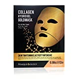 Masqueology Collagen Hydro Gel Gold Mask, 12 ct.