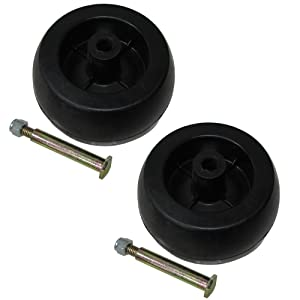 (2) Deck Wheel Kits for Craftsman Poulan Husqvarna 734-04856 92683 92265 133957