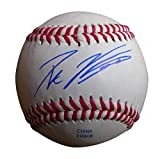 Los Angeles Dodgers Pat Venditte Autographed Hand Signed Baseball with Proof Photo, Toronto Blue Jays, Oakland Athletics, A's, NY Yankees, Seattle Mariners, Philadelphia Phillies, COA