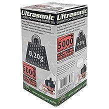 5,000-pc. Ultrasonic .20g Airsoft Bb's - Sniper Black