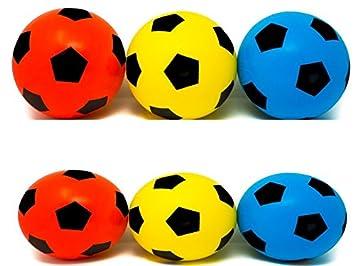 Fútbol de espuma suave, de E-Deals, ED2Y20CMPK2Y, 2B+2R+2Y: Amazon ...