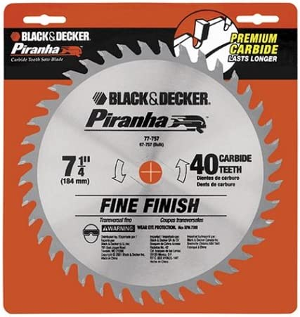 "5 Lot of Black /& Decker Premium 8/"" Carbide Tipped 20 Teeth Circular Saw Blades"