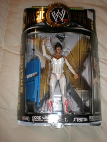 WWE - Classic Super Stars - Sensational Sherri Figure - Collector Series #14 - Limited Edition - Mint - Collectible - (S) by - Wwe Wwf Mint