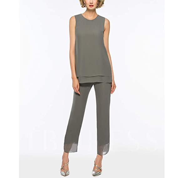 Amazon.com: Pantalones de manga larga para la madre de la ...