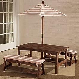 KidKraft Outdoor Table & Bench Set – 500