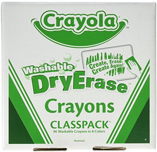 Crayola Erase Classpack Crayons Count